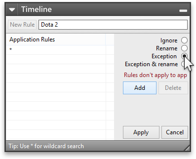 Add Exception rule for Dota 2